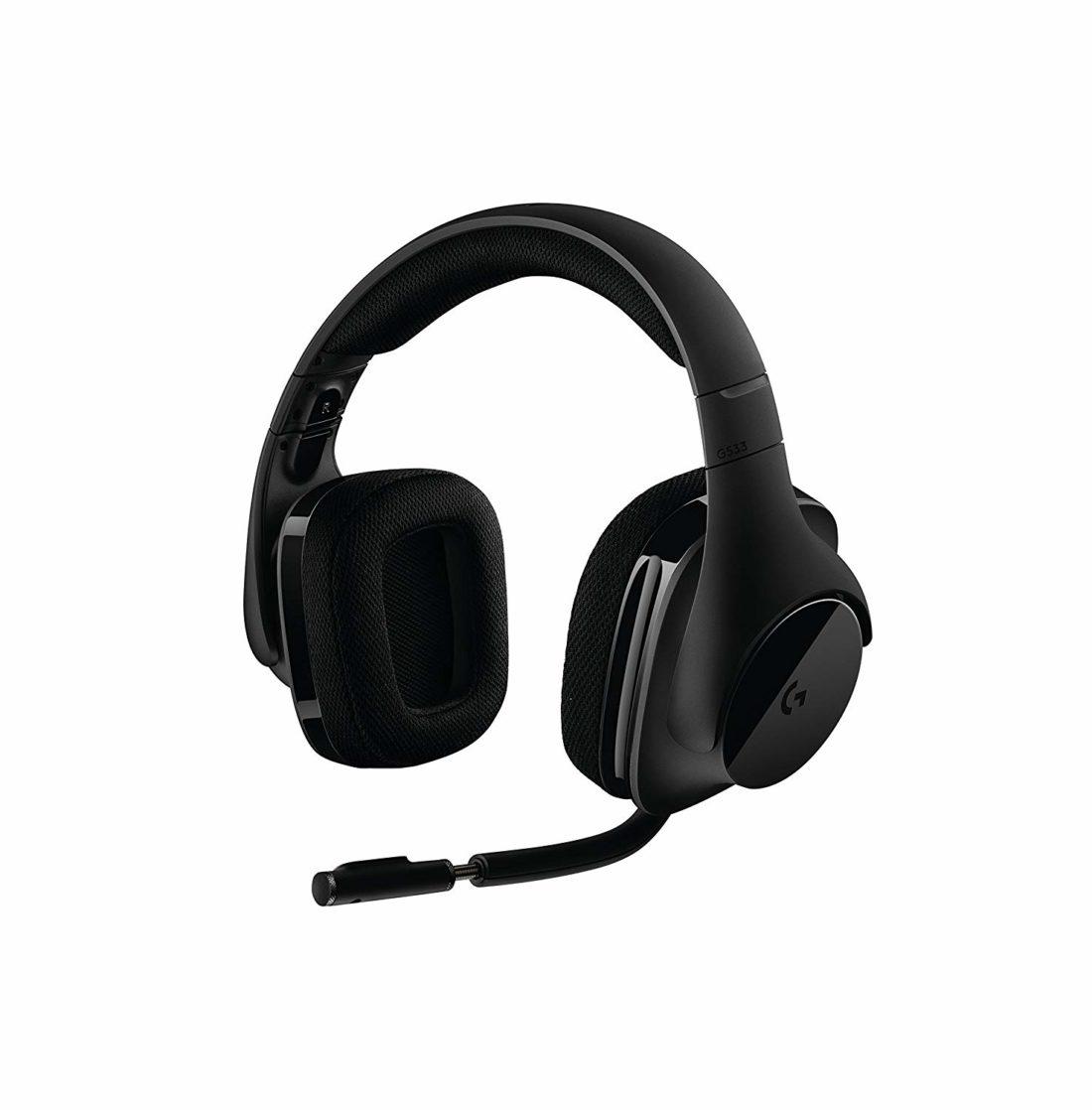 casque audio sans fil pour gamer LogitechG533