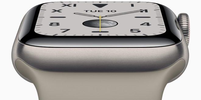 cadran apple watch series 5