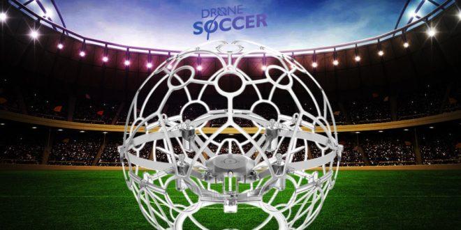 Dronepang drone soccer