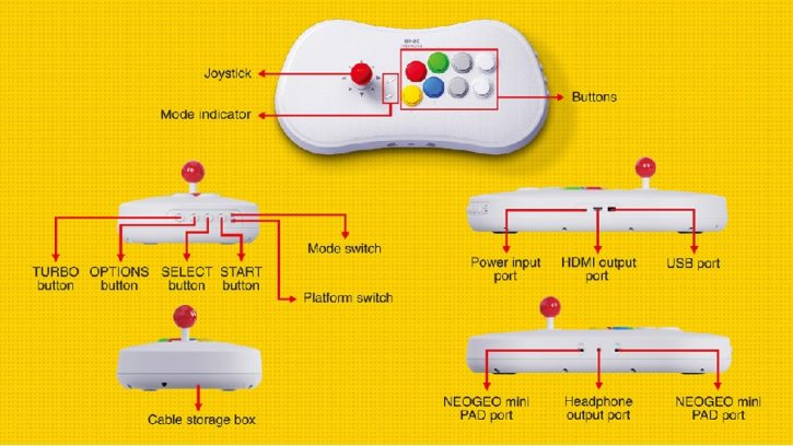 arcade stick pro SNK