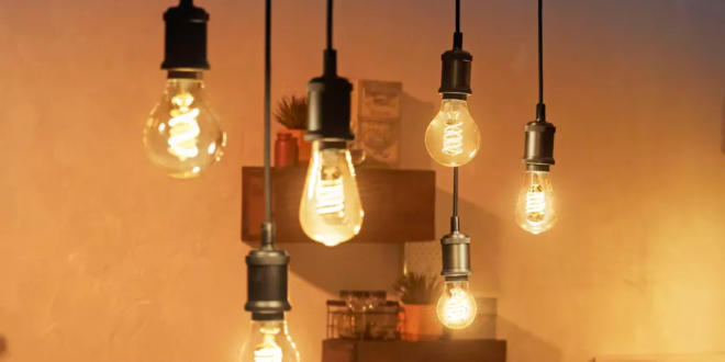ampoule connectée à filament Philips hue