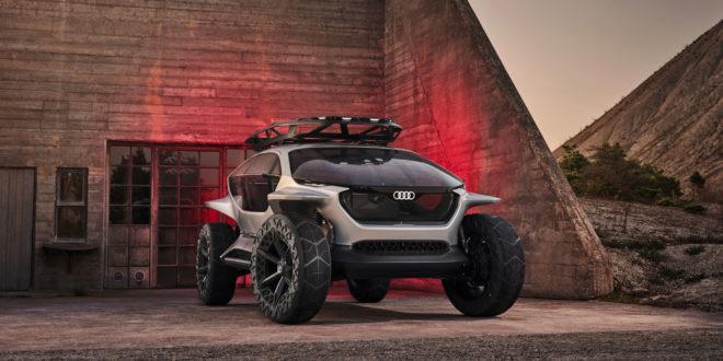 audi ai trail, concept car buggy électrique