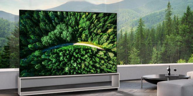 LG télévisuer OLED 8K de 88 pouces