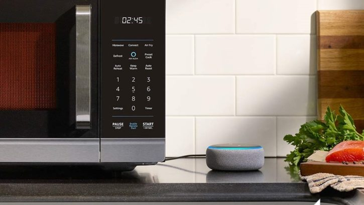 four intelligent Amazon smart oven avec Alexa
