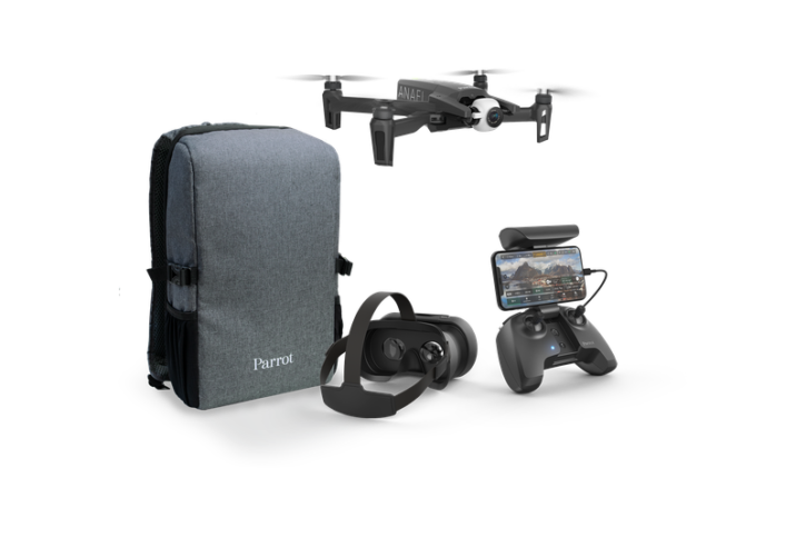 pack drone parrot anafi fpv
