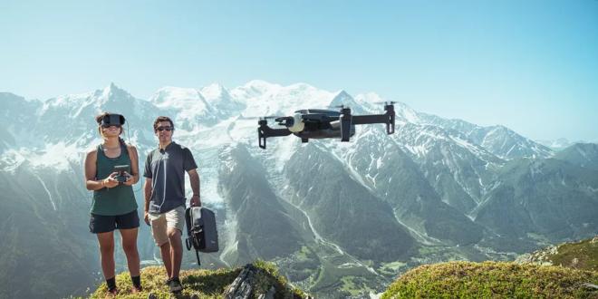 parrot drone anafi fpv