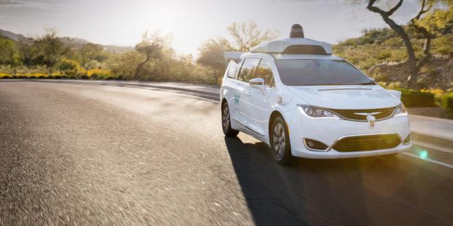 un des taxis autonomes de Waymo