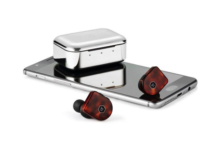 écouteurs sans fil master & dynamic mw07 plus avec téléphone
