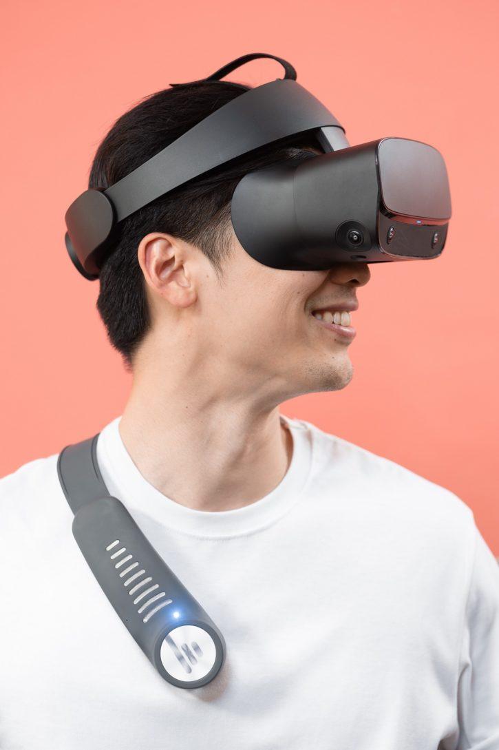 caisson de basse portatif bassme pour réalité virtuelle