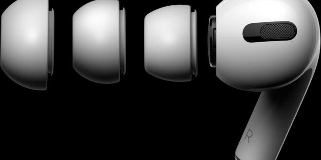 écouteurs sans fil Apple AirPods Pro et embouts flexibles