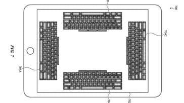apple brevet écran virtuel toucher mécanique