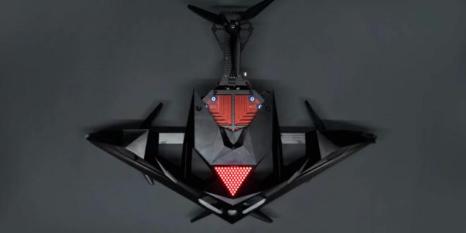 Drone de course autonome racerAI de le DRL