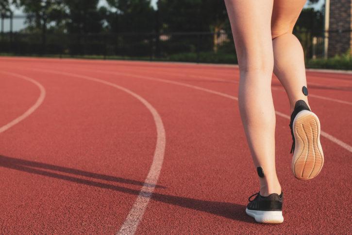 Kit fathom pro pour running, capteurs sur les chevilles