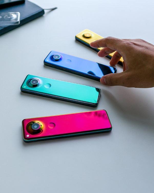 Smartphone essential project gem vu de dos