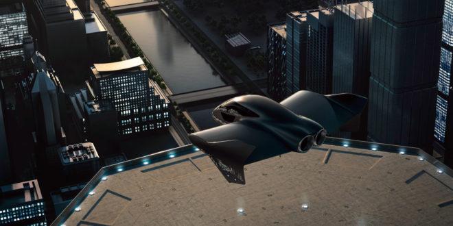 concept de voiture volante par boeing et porsche