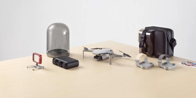 drone Mavic Mini de DJI et accessoires