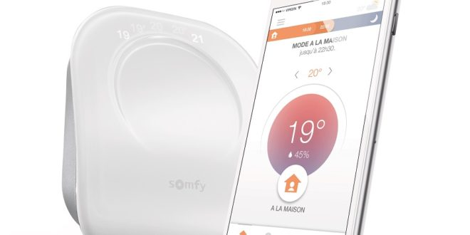 somfy thermostat connecté
