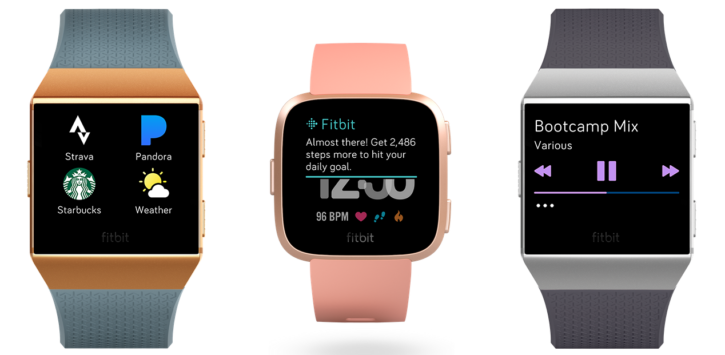 Montres connectées Fitbit