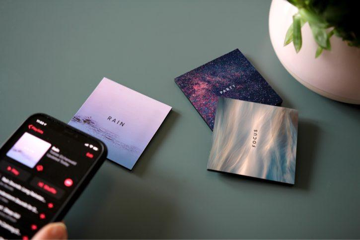 Lot de Muse Block avec thèmes imprimés