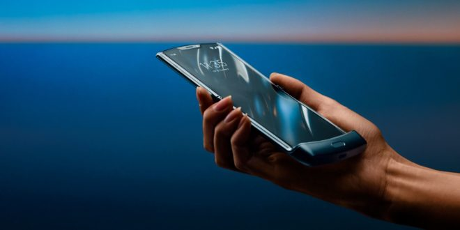 Motorola Razr 2019, smartphone pliable