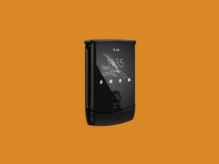 Motorola Razr 2019, smartphone pliable refermé