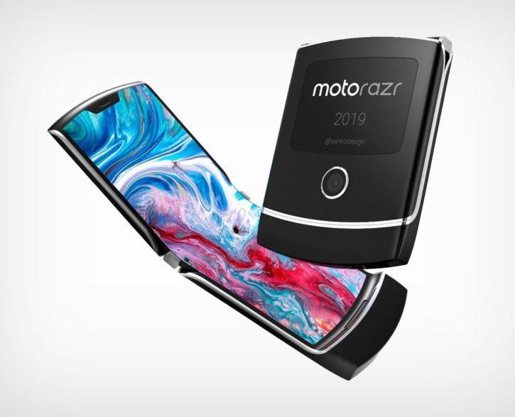 Motorola Razr 2019, smartphone pliable, visuels
