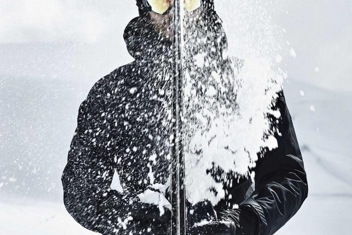 Veste de ski hydro_bot résistante à l'eau