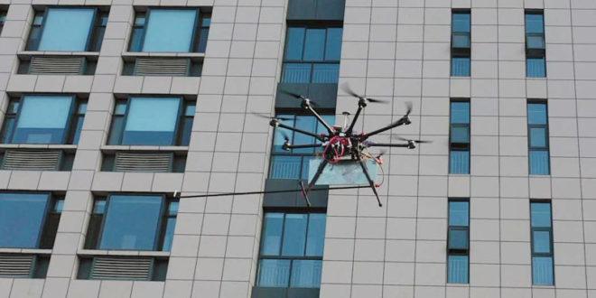 Un drone de sauvetage a été conçu pour « voir » à l'intérieur des bâtiments