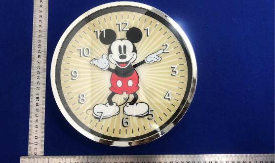 amazon echo wall clock mickey edition