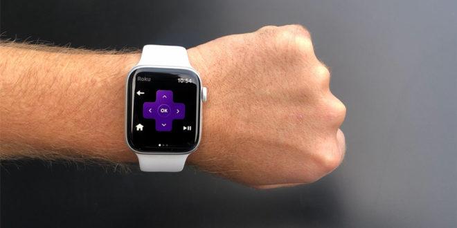 app Roku pour apple watch