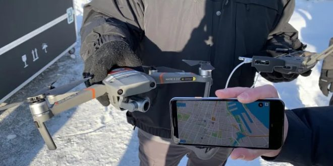 DJI lance une application pour identifier des drones avec un smartphone