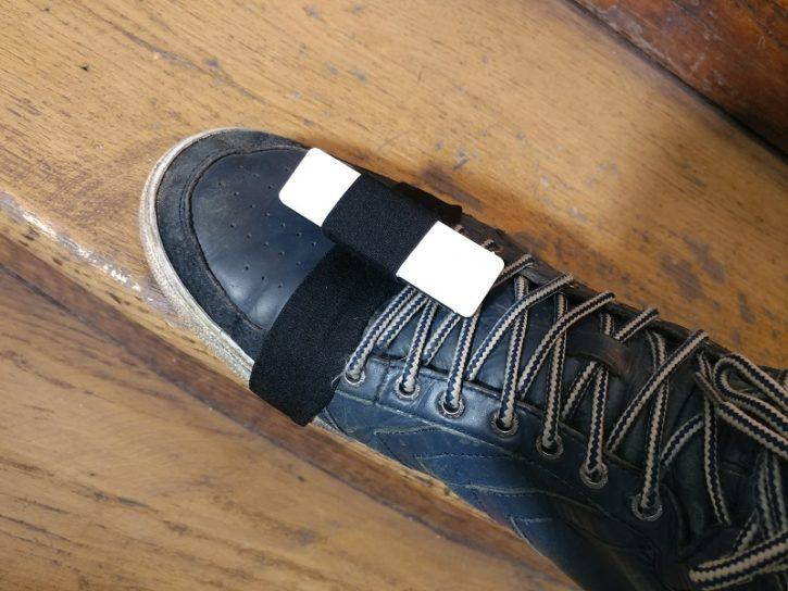 senstroke capteur pied