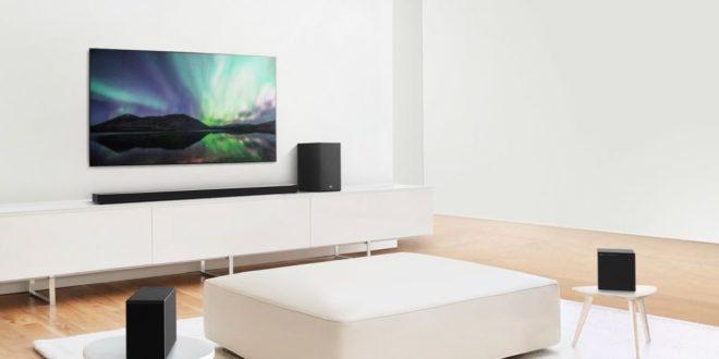 nouvelles barres de son de la gamme SN de LG