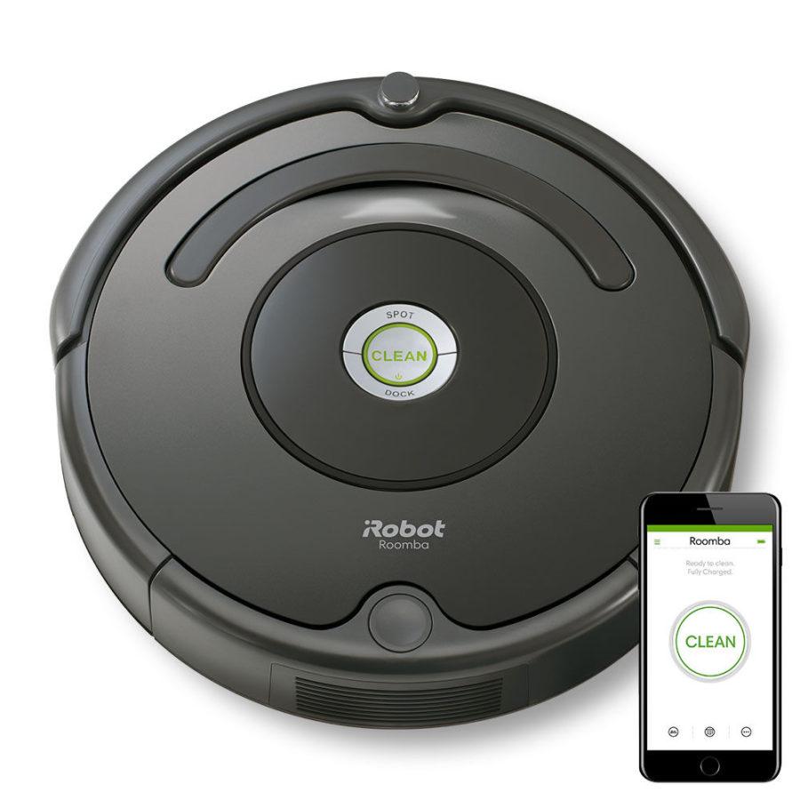 robot aspirateur irobot roomba 676