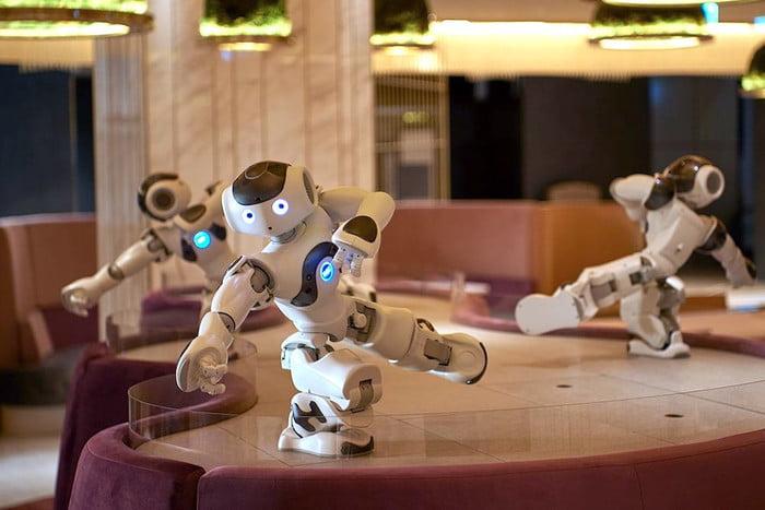 robot nao dans le pepper parlor