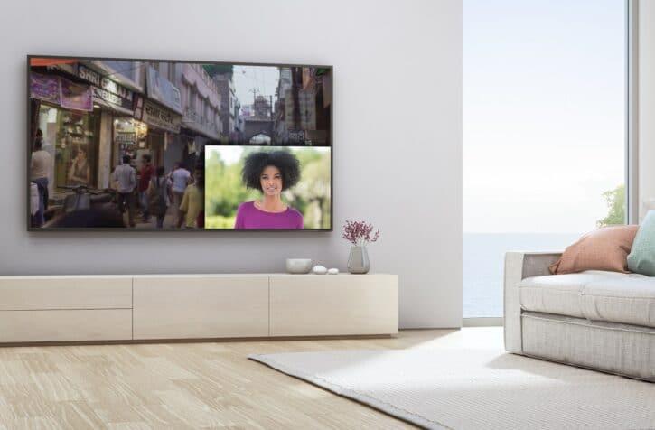 regarder son entrée sur son téléviseur avec la sonnette connectée Philips WelcomeEye Link
