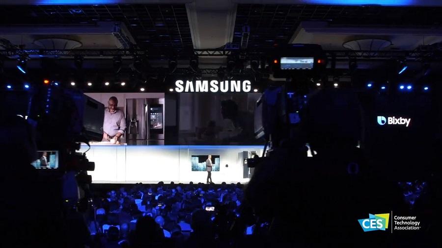 ces exposants, Samsung