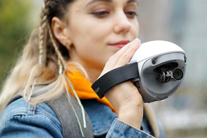 drone poweregg x de powervision en mode caméscope