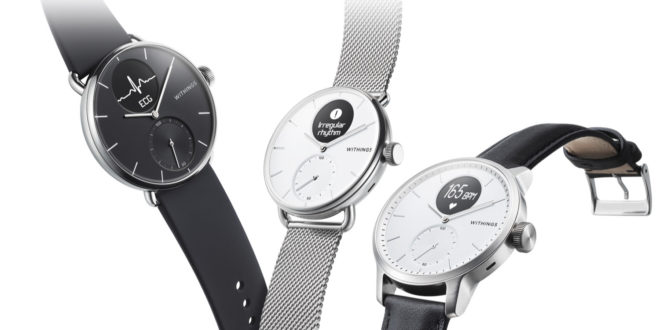 montre connectée withings scanwatch