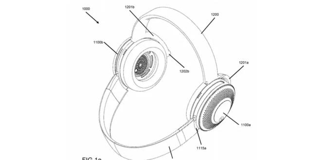 concept du casque audio-purificateur d'air de dyson