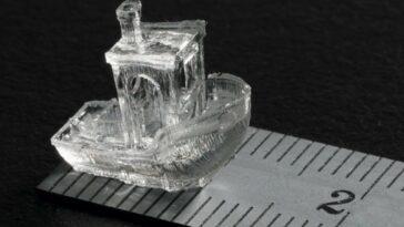 imprimer un objet 3D de 2 cm en quelques secondes