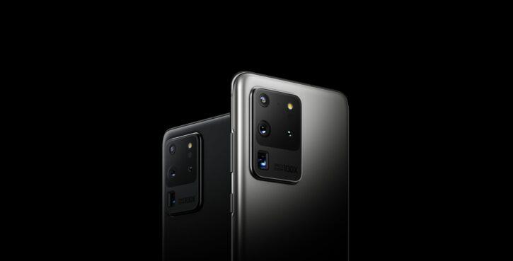 les caméras des Samsung galaxy s20