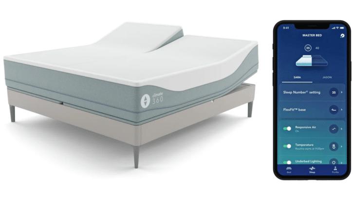 lit intelligent climate360 smart bed