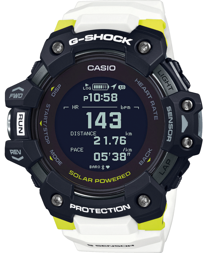 montre connectée casio g-shock gbd-h1000