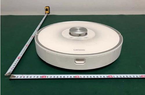 nouveau robot aspirateur Lenovo avec instruments de mesure de la FCC