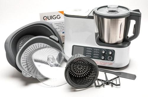 robot de cuisine Quigg KM 2017Wi
