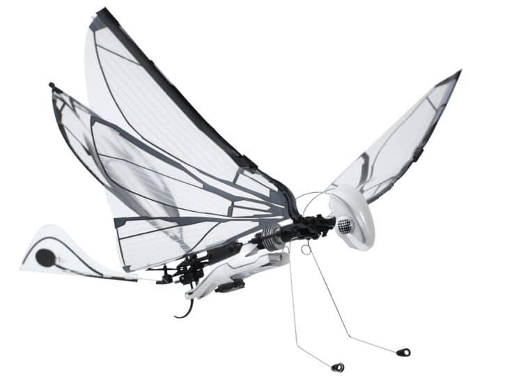 robot papillon MetaFly en vol
