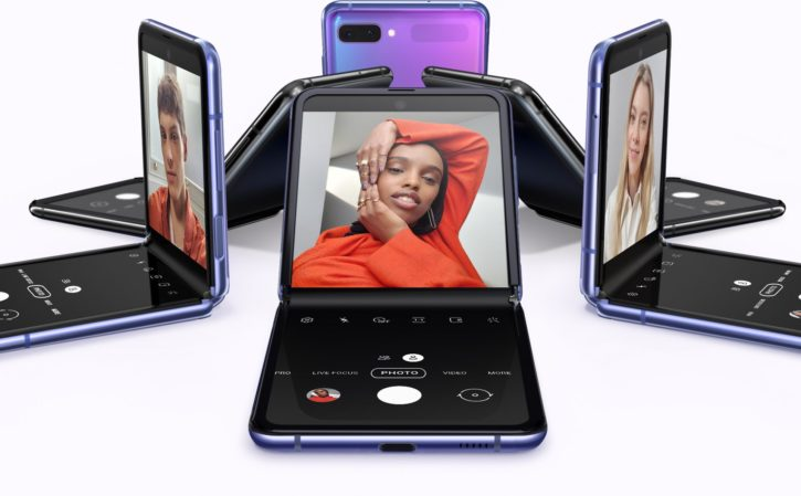 smartphones samsung galaxu z flip