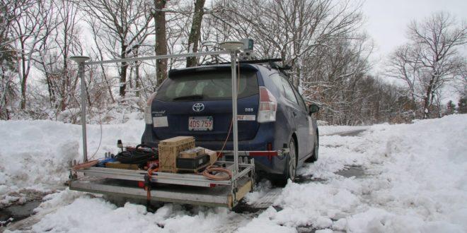 système de radar GPR du MIT pour les voitures connectées