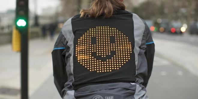 veste emoji de ford pour les cyclistes